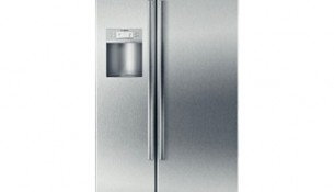 Bosch – Linea 500 Series Counter Depth Side by Side Refrigerator B22CS50SNS