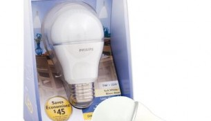 "PHILIPS 7W LED ""A"" Dimmable Soft White"