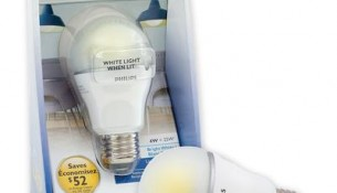PHILIPS 4W A19 Non-Dimmable Bright White (25W) - LED Bulb