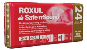 ROXUL Roxul Safe'n'Sound For Wood Studs 24 In. On Centre