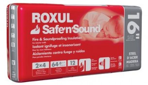 ROXUL Roxul Safe'n'Sound For Steel Studs 16 In. On Centre