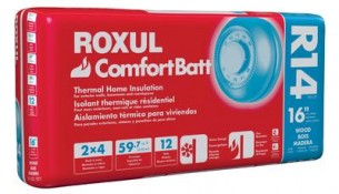 ROXUL Roxul Comfortbatt R14 For 2x4 Studs 16 In. On Centre