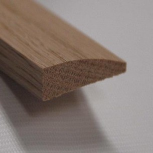 Shur Trim Red Oak Reducer Floor Moulding Natural 7 16