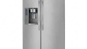 LG  24.0 CuFeet. Counter Depth Side-By-Side Refrigerator with Ice and Water Dispenser, Stainless