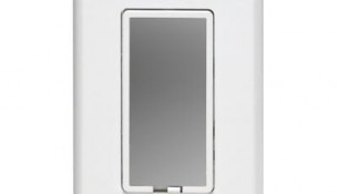 LEVITON  True Touch Dimmer Single Pole 600w, White-Silver