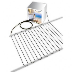 TRUE COMFORT  True Comfort 240-V Floor Heating Cable – Covers from 92 up to 119 sf depending on chosen spacing