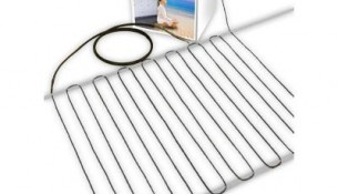 TRUE COMFORT  True Comfort 240-V Floor Heating Cable – Covers from 58 up to 74 sf depending on chosen spacing