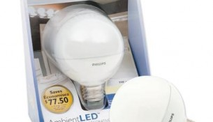 PHILIPS 9W G25 Globe Soft White (40W) - LED Bulb