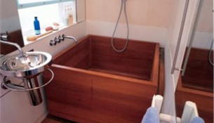 Sinks Gallery – Custom Teak BathtubModel: WGAR-CTB