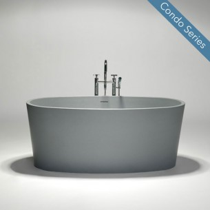 Blu Bathworks – blu•stone one-piece freestanding bathtub   BT0402