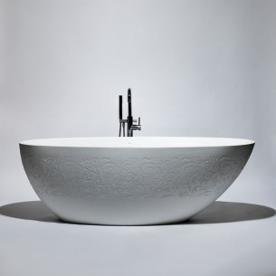 Blu Bathworks – blu•stone one-piece freestanding bathtub   BT0406 / BT0408