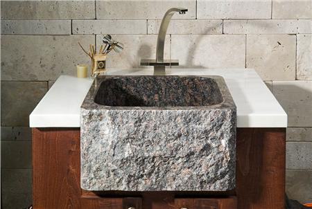 Sinks Gallery Tan Brown Granite Farm Sink Style Bar Sink